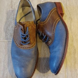 Cole Haan Nikeair Saddle Shoes Leather Size 9.5